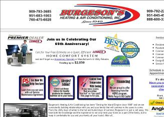 Burgeson's Heating & Air Conditioning