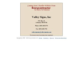 Valley Signs Inc