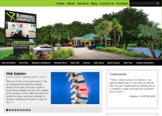 Bloomingdale+Chiropractic+-+Richard+Robinson+DC Website