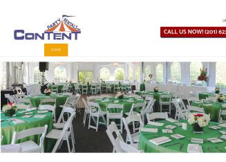 Content+Party+Rentals Website