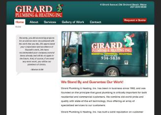 Girard+Plumbing+%26+Heating+Inc Website