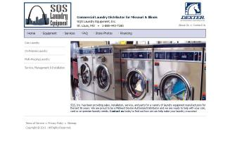SQS+Laundry+Equipment+INC. Website