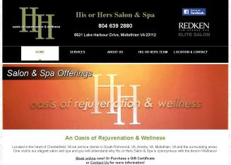 His+or+Hers+Salon+%26+Spa Website