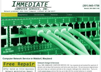 Immediate+Computer+Service Website