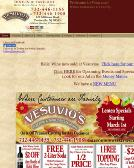 Vesuvio+Pizza Website