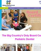 Abilene+Pediatric+Dental+Associate Website