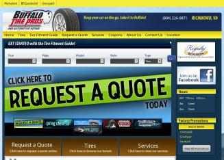 Buffalo+Tire+%26+Automotive Website