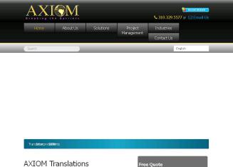AXIOM Translations