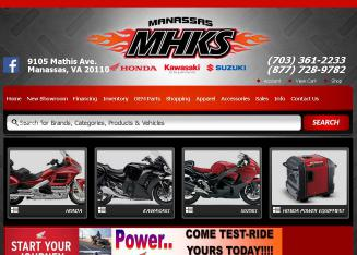 Manassas+Kawasaki Website