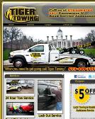 Tiger+Towing Website