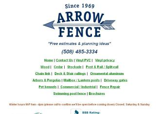 Arrow+Fence+Co+Inc Website