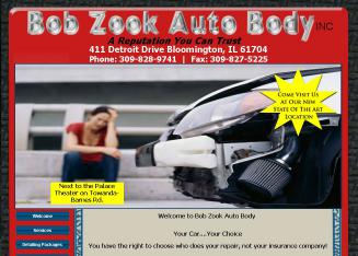 Bob+Zook+Auto+Body+Inc Website
