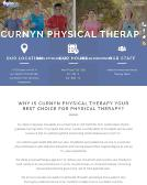 Curnyn+Physical+Therapy Website