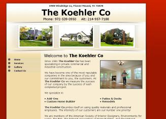 The+Koehler+Co Website