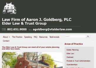 Aaron+J.+Goldberg%2C+PLC Website