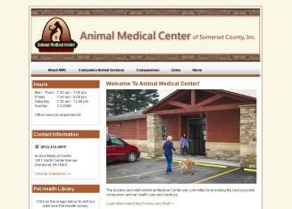Animal+Medical+Center+of+Somerset+County Website