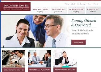Employment+2000 Website