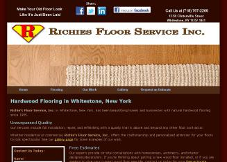 Richies+Floor+Service+Inc Website