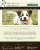 Happy+Run+Kennel Website