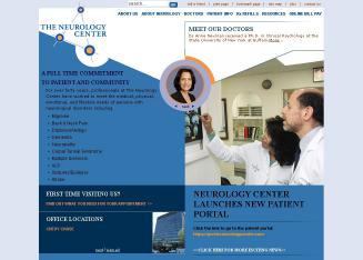 Neurology+Center Website