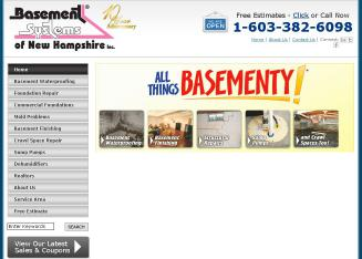 Basement+Systems+of+New+Hampshire Website
