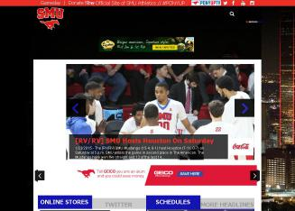 SMU+Athletics Website