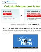 Colonial+Printing Website