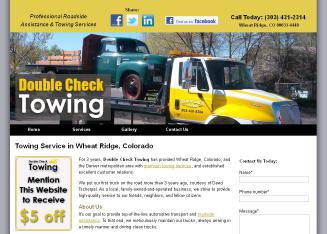 Double+Check+Towing Website