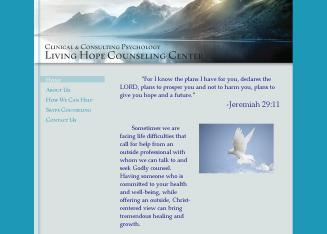 Living+Hope+Counseling+Center Website