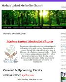 Madras+United+Methodist+Church Website