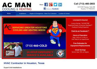 A-C+Man+Cooling+%26+Heating Website