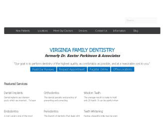 Dr.+Baxter+Perkinson+%26+Associates Website