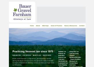 Bauer+Gravel+Farnham Website