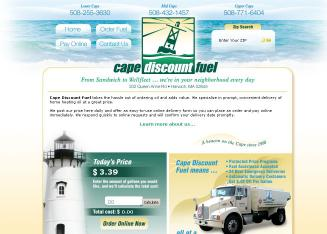 Cape+Discount+Fuel Website