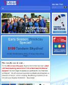 Skydive+Snohomish Website
