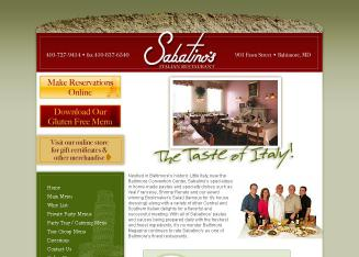 Sabatino%27s+Italian+Restaurant Website