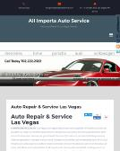 All+Imports-Domestic+Auto+Service Website