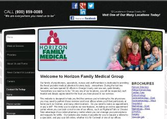 Horizon+Family+Medical+Group Website