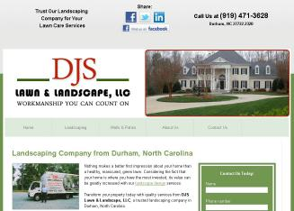 DJS+Lawn+%26+Landscape Website