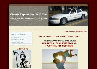 Chester+Express+Shuttle Website