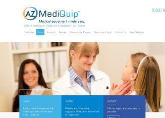 AZ+Mediquip%2C+Inc. Website