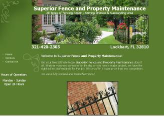 Jeffs+Fencing+and+Property+Maintenance Website