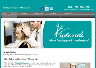 Victoria%27s+Salon Website