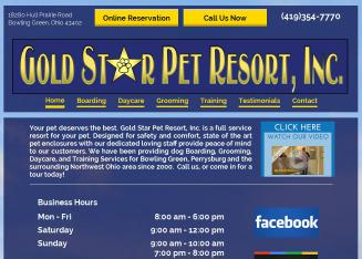 Gold Star Pet Resort Inc