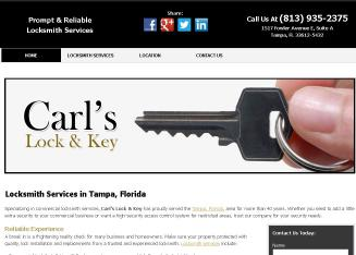 Carl%27s+Lock+%26+Key Website
