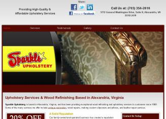 Sparkle+Upholstery Website