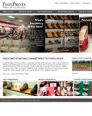 Footprints+Fashion+%26+Footwear Website