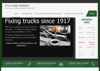 Morris+Auto+Radiator+Co+Inc Website