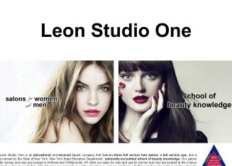 Leon Studio One Hair Design
