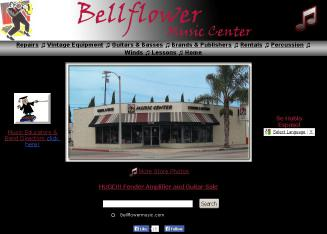 Bellflower+Music+Center Website